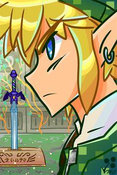 Fan Art- Link by Linkakami.deviantart.com on @deviantART