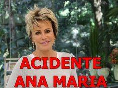 Vídeo de Acidente - Ana Maria Braga - Apresentadora foi atropelada por veículo ao vivo - 22/04/13, via YouTube.