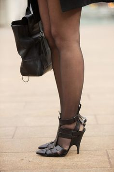 Shoe Stalking! NYFW Blizzard Edition  LOVE These!