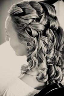 Style Me Pretty   Gallery - Wedding hair.