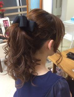 Kawaii Hairstyles, Pretty Hairstyles, Braided Hairstyles, Ribbon Hairstyle, Light Purple Hair, Simple Ponytails, Dye My Hair, Aesthetic Hair, Hair Looks