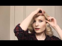 easy pin curl tutorial. best outcome ive found!