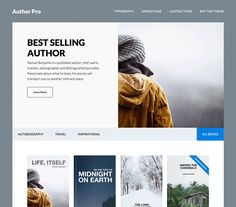 Score: 90 Author Pro helps published authors like you build a better online library of books with its intuitive design and powerful functionality. Further your following by showcasing your published work with the user-friendly features of Author Pro. Your readers will thank you for it.