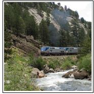 Train across America!  Would love to do this!!!!