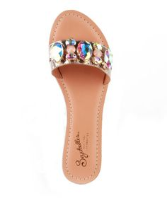"""Aries"" jeweled sandal - Seychelles Spring 2015"