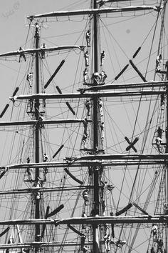 Dar Młodzieży. Tall Ships Races 2015