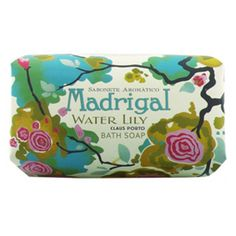More Claus Porto- the packaging is so pretty. Buy Claus Porto Large Bar, Madrigal - Water Lilly Soap & More   Beauty.com