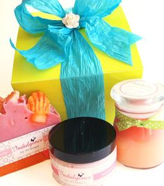 How very lovely  Pamper Me Mother's Day Gift Set by svsoaps on Etsy, $25.00