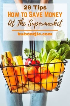 26 Tips - How to Save Money At The Supermarket    Grocery shopping is one of the biggest expenses in every household, but there are a few things that you can do to save money at the supermarket and avoid buying unnecessary items that you didn't plan on buying in the first place.    #savemoney #groceries #financial
