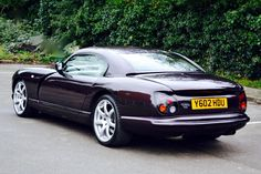 2000 TVR Cerbera 4.0l Straight six/ 4.2l V8/4.5l V8. The Cerbera was a revolution for TVR. It was the first TVR to utilise its own engines, not borrowing from Rover, Ford, and Triumph, and it was also the first TVR to use a 2+2 seating layout. It was at one point one of the fastest production cars in the world. This was due to an extremely lightweight composite fibreglass body and an extremely compact engine in both straight six and V8 formats. Truly a legend in British automotive history.