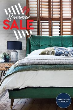 With up to 25% off in our Summer Sale, now's the time to get the bedroom of your dreams.