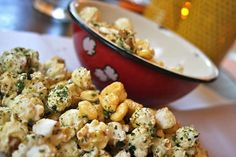Kettle Corn at A-Frame (Los Angeles, CA). #UniqueEats #popcorn