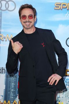 Robert Downey Jr. attends the premiere of Columbia Pictures' 'Spider-Man: Homecoming' at TCL Chinese Theatre on June 28, 2017 in Hollywood, California.