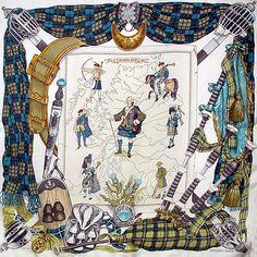 luxury-scarves.com 'Scotland', Philippe Ledoux. 1963