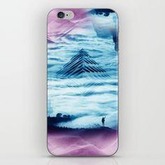 Pyramid Teal iPhone & iPod Skin$15.00 https://society6.com/product/pyramid-teal_phone-skin?curator=2tanduk