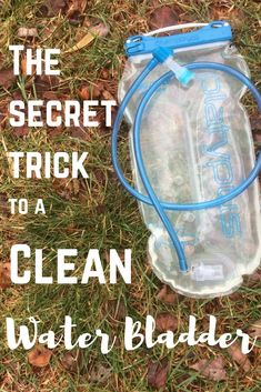 The secret trick to a clean water bladder. No more mold and mildew in your platypus or camelback. Clean and store your bladder correctly. Backpacking Tips, Hiking Tips, Camping And Hiking, Camping Life, Hiking Gear, Hiking Backpack, Family Camping, Tent Camping, Camping Gear