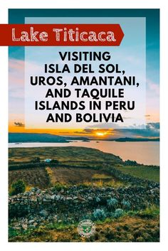 Planning a trip to lake Titicaca in South America? Here is our guide to Isla del Sol, Uros, Amantani and Taquile Islands in Peru and Bolivia. South America Destinations, South America Travel, Lake Titicaca Peru, Bolivia Travel, Romantic Things To Do, Beach Adventure, Cultural Experience, Travel Couple, Best Hotels