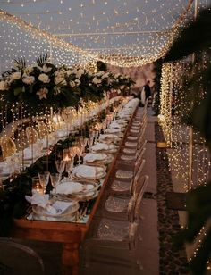 stunning wedding light ideas for reception Romantic Dinner Setting, Romantic Dinners, Romantic Weddings, Country Weddings, Summer Weddings, Unique Weddings, Rustic Weddings, Indian Weddings, Whimsical Wedding Ideas