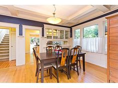 Vintage 1914 Craftsman features many of its original built-ins and trims,