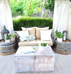 You'll never know how easy it is to upgrade your backyard until you check these. For more go to glamshelf.com #homedesignideas #backyardideas #patiofurniture
