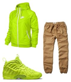 """Untitled #12"" by polodwnquinn ❤ liked on Polyvore featuring NIKE and Hollister Co."