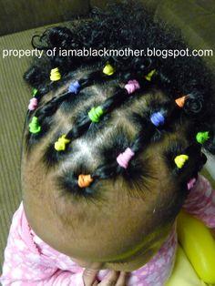 I Am A Black Mother: Piggyback Piggytails
