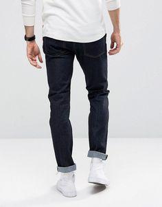 Cheap Monday Jeans Sonic Slim Fit Rinse Blue - Blue
