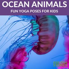5 Ocean Yoga Poses for Kids. Sea life comes to life through movement. Childrens Yoga, Ocean Depth, 5 Oceans, Mindfulness For Kids, Summer Reading Program, Easy Yoga Poses, Yoga For Kids, Cool Pets, How To Do Yoga