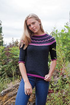 oppskrift genser knit me dryss tirilgenser
