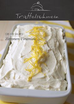 Zitronen-Tiramisù