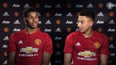 Jesse Lingard and Marcus Rashford talk team-mates in the MUTV app at 18:30 BST.   Download now: http://manutd.co/pB