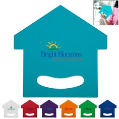 Promotional Realtor House Hand Fan | Customized Realtor House Hand Fan | Promotional Hand Fans Bright Horizons, Real Estate Advertising, Promotional Giveaways, Hand Fans, Real Estate Business, Home Team, Company Logo, Branding, Kids Rugs