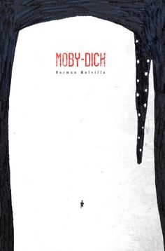 Moby Dick cover by Umberto Scalabrini-cover-books-design-illustrations