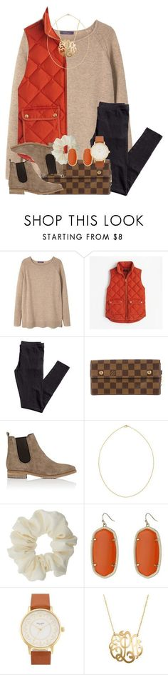 """""""comment things to ask for for Christmas!!!"""" by thefashionbyem � liked on Polyvore featuring MANGO, J.Crew, H&M, Louis Vuitton, Barneys New York, Kendra Scott, Miss Selfridge, Kate Spade and Jane Basch"""