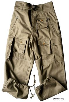 French Extreme Orient Para Trousers
