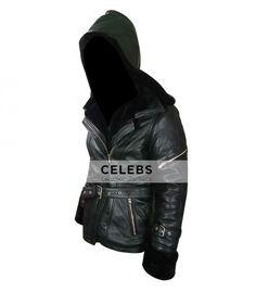 Once Upon a Time Emma Black Leather Jacket
