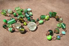 Copper & Green Goodness Necklace