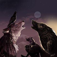 Werewolves pictures   evening howling - Werewolves Photo (6156567) - Fanpop fanclubs