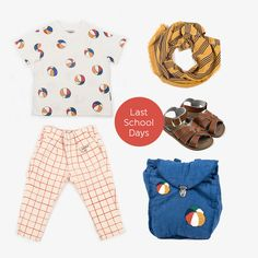 Last School Days Look Baby Online, School Days, Kind Mode, Kids Fashion, Shopping, Clothes, Outfits, Clothing, Kleding