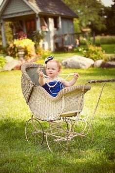 baby girl photo {this site sales those adorable baby girl rompers as well}