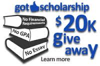 Hurry, this scholarship ends Sept. 26