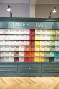 Farrow And Köln farrow colour cards the colour wall and beautiful flowers