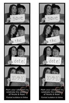 SaveTheDate Photobooth DIY