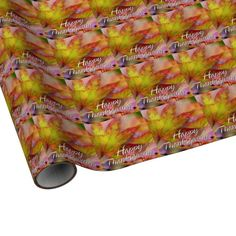Happy Thanksgiving 15 Options Wrapping Paper