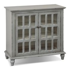 Accent and Occasional Furniture - Bray Accent Cabinet - Antique Grey