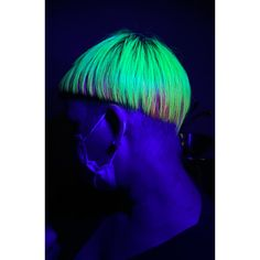 Cut and color Neon Hair Color, Fantasy Hair Color, Cut And Color