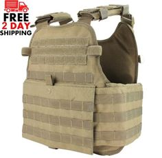 Condor Tactical MOPC-003 Operator Plate Carrier Vest Body Armor Molle Chest  Rig 120a35ac341