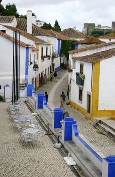 Obidos, Portugal - it REALLY does look like this!!!