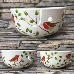 Ceramic Clay, Ceramic Painting, Ceramic Bowls, Diy Painting, Pottery Painting Designs, Pottery Designs, Pottery Mugs, Ceramic Pottery, China Clay