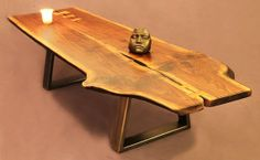 Live Edge Walnut Coffee Table Table Top Only